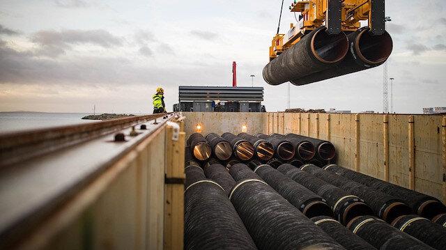 Gazprom Kuzey Akım 2 açıklaması: Yüzde 95'i tamamlandı