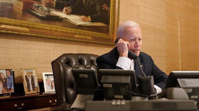 ABD Başkanı Biden'dan Ukrayna Devlet Başkanı Zelenskiy'e telefon: Arkanızdayız