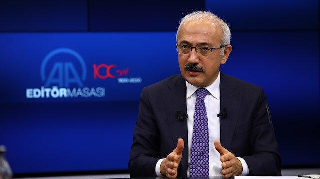 Hazine ve Maliye Bakanı Elvan'dan AB ülkelerine reform brifingi