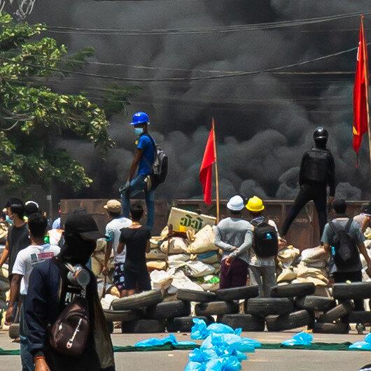 UN Security Council president urges Myanmar dialogue