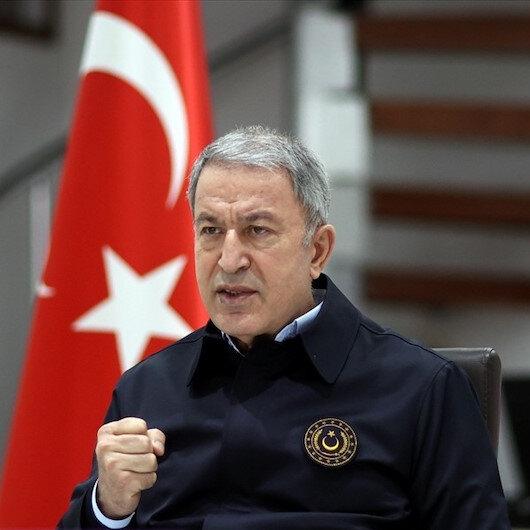 Milli Savunma Bakanı Hulusi Akar: Mehmetçiğin nefesi teröristlerin ensesinde