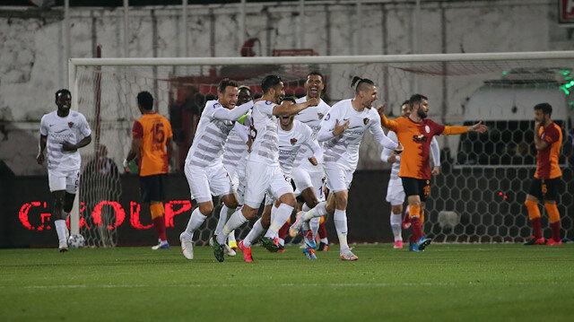 Galatasaray, Hatay'da ağır yara aldı