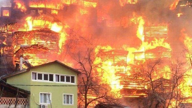 Artvin'in kabusu yangınlar yetersiz elektrik tesisatı soba ve baca kaynaklı