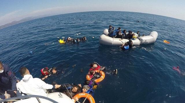 Ege denizinde ölüme terk edilen göçmenler: Yunan görevliler bizi yarım saat dövdü