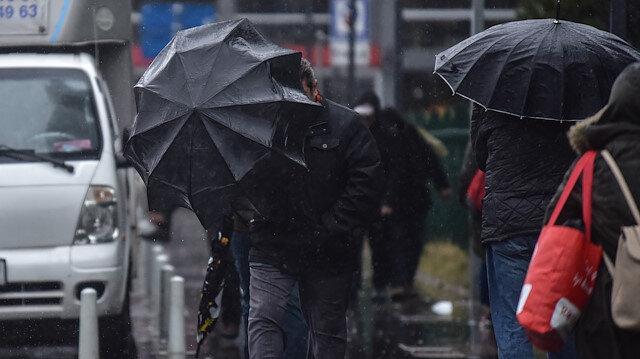 Meteorolojiden Marmara bölgesinin güney ve doğusu için kuvvetli sağanak uyarısı