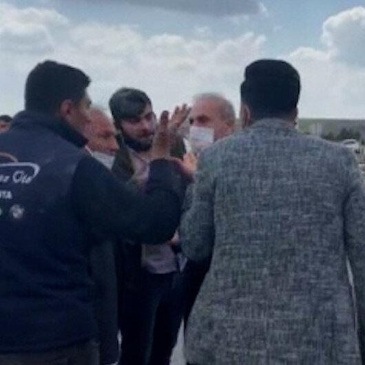 Şanlıurfada düğün konvoyunda yaşanan kaza sonrası kavga çıktı
