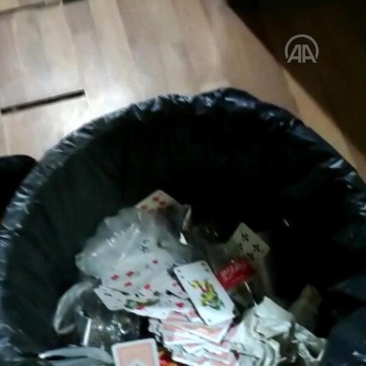 Gelecek Partisinin eski il başkanının da aralarında olduğu 12 kişi kumar oynarken yakalandı