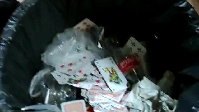 Gelecek Partisi'nin eski il başkanının da aralarında olduğu 12 kişi kumar oynarken yakalandı