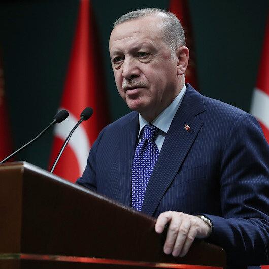 Cumhurbaşkanı Erdoğan: Montröden çıkmak gibi ne bir çalışmamız ne de bir niyetimiz var