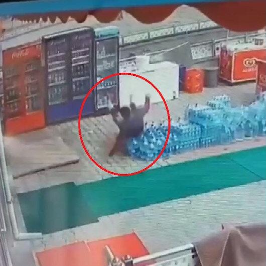 Market işletmecisi prizi tamir ederken elektrik akımına kapıldı