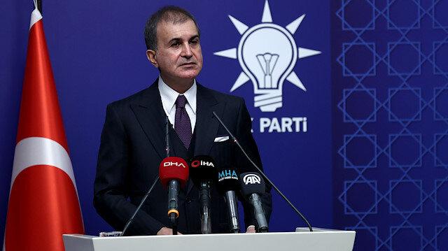 AK Parti Sözcüsü Çelik MYK sonrası konuştu: Bildiri gayrimeşru bir teşebbüstür