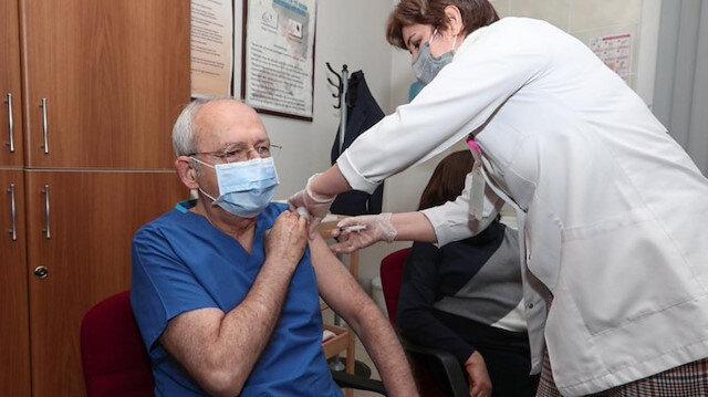 Aşı uygulanan 17 milyon kişi içinde kendisi de bulunan Kılıçdaroğlu: Kimse aşı olamıyor