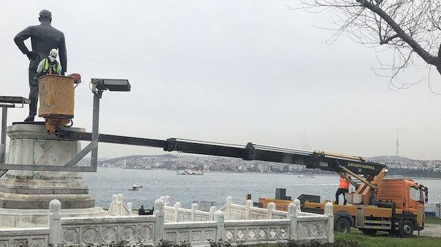 CHP'li İBB heykellerin bakımı için özel ekip kurdu