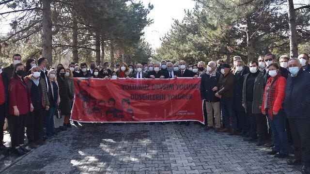 CHP ve HDP terörist Mahir Çayan'ın mezarında buluştu