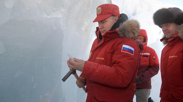 Putin'in Kuzey Kutbu'ndaki gizli planı uyduya yakalandı: Askeri varlığını artırıyor