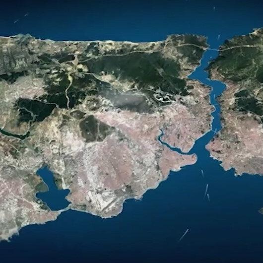 Cumhurbaşkanı Erdoğan Kanal İstanbul projesinin videosunu izletti