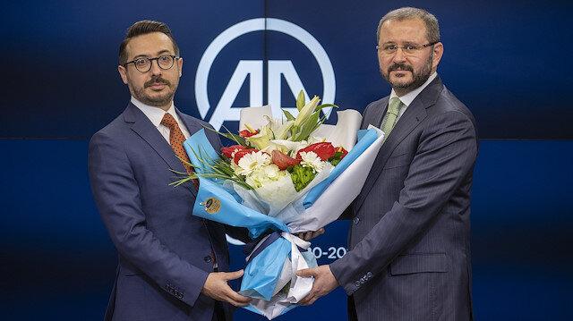 Anadolu Ajansında görev değişimi: Şenol Kazancı görevini Serdar Karagöz'e devretti