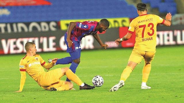 Trabzon galibiyete hasret