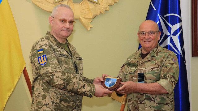 NATO'dan Rusya'ya gözdağı: Askeri Komite Başkanı Ukrayna'da