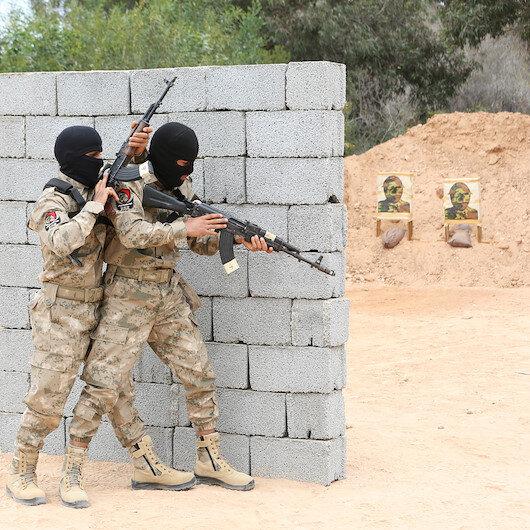 Libyada Mehmetçiğin eğitim verdiği askeri öğrenciler mezun oldu