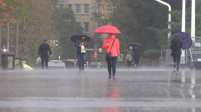 Meteorolojiden 39 ile yağış uyarısı yapıldı
