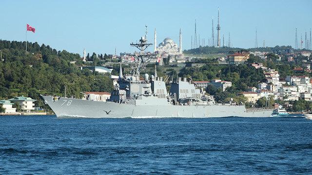 Karadeniz'e gönderiyor: İki ABD savaş gemisi Türkiye'ye geliyor