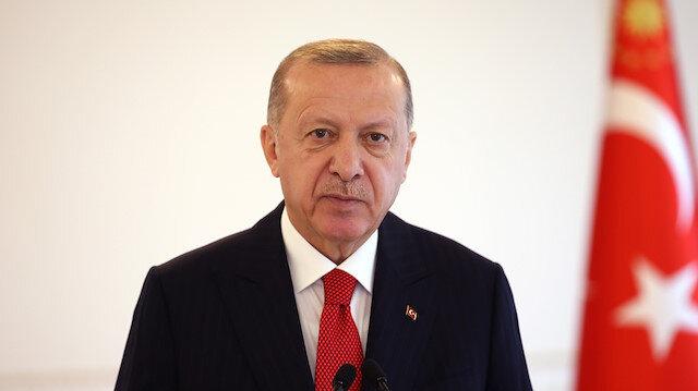 Cumhurbaşkanı Erdoğan'dan İngiltere Prensi Philip için başsağlığı mesajı