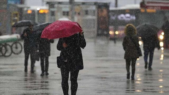 Meteoroloji son tahminlerini paylaştı: Yağmur ve karın ardından bahar geliyor