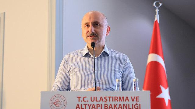 Ulaştırma ve Altyapı Bakanı Karaismailoğlu: Stratejik projemiz Kanal İstanbul ile lojistik iddiamızı denizlerimizde de perçinleyeceğiz