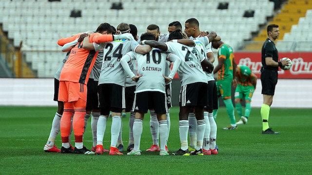 Beşiktaş'ın kadrosu açıklandı: Üç isim dışında eksik yok