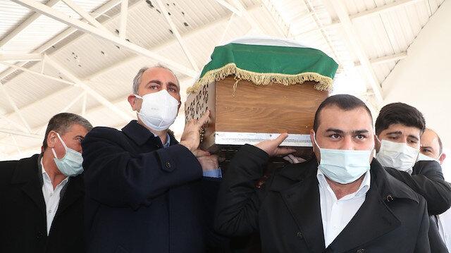 Bakan Gül'ün annesi son yolculuğuna uğurlandı