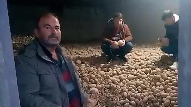 Patates üreticilerinden Erdoğan'a teşekkür videoları: Hem derdimize hem fakir fukaraya derman oldu