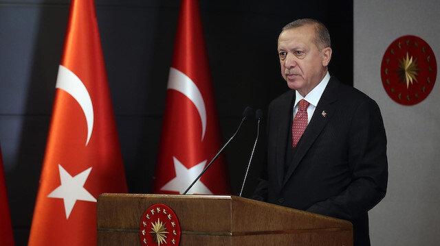 Cumhurbaşkanı Erdoğan'dan Etnospor Forumu'na mesaj