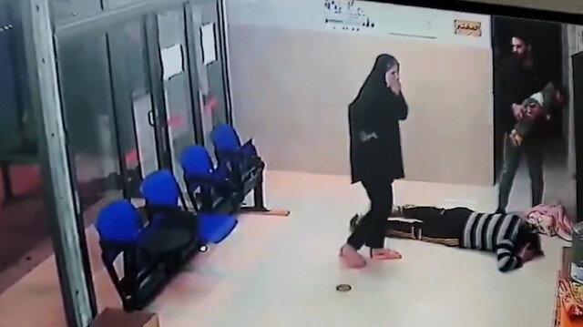 Filistinli baba, küçük çocuğunun hayatını kurtaran doktorun ayaklarına kapandı