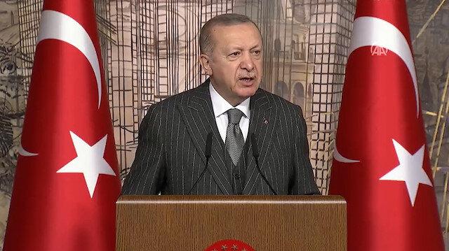 Cumhurbaşkanı Erdoğan: Türkiye'nin sinir uçlarıyla oynamaya çalışanlara aradıkları fırsatı vermeyeceğiz