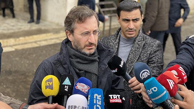 Cumhurbaşkanlığı İletişim Başkanı Altun'dan uluslararası topluma tepki: Karabağ'a ikiyüzlü tavır takınmadan bakmaları lazım