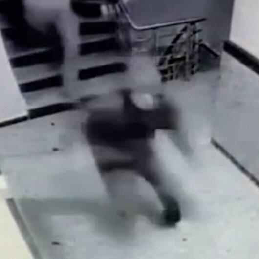 Beşiktaşta apartmana giren hırsızlar ev sahibine yakalandı