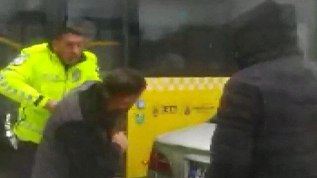 Arnavutköy'de film gibi kovalamaca: Korsan taksi kaçtı polis kıskıvrak yakaladı