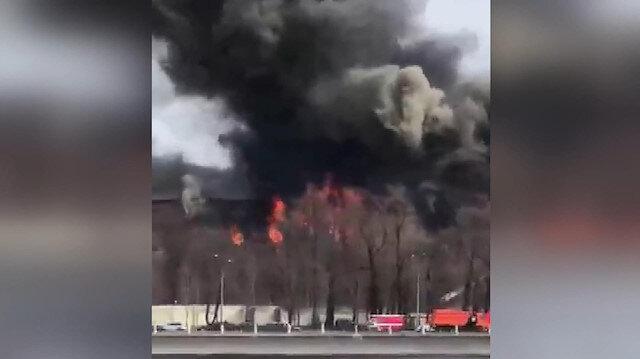 Rusya'da dev yangın