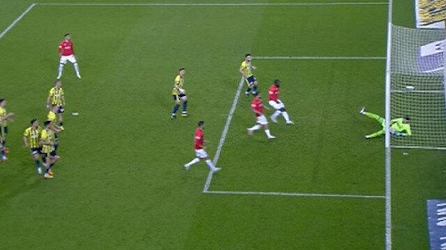 Fenerbahçe-Gaziantep maçında çizgi tartışması: VAR uyardı 'gol' kararı verildi