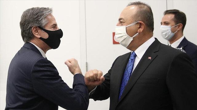 Bakan Çavuşoğlu ABD Dışişleri Bakanı Blinken ile görüştü