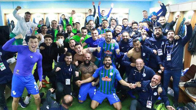 Çaykur Rizespor'da 33 yıllık rekor egale edildi