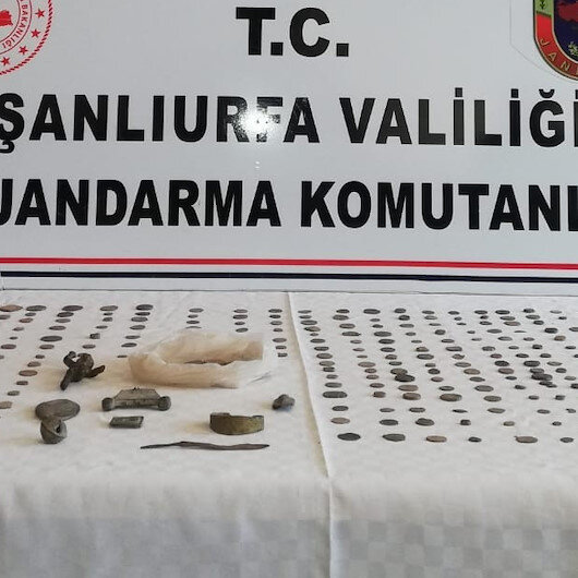 Over 520 historical artifacts seized in SE Turkey