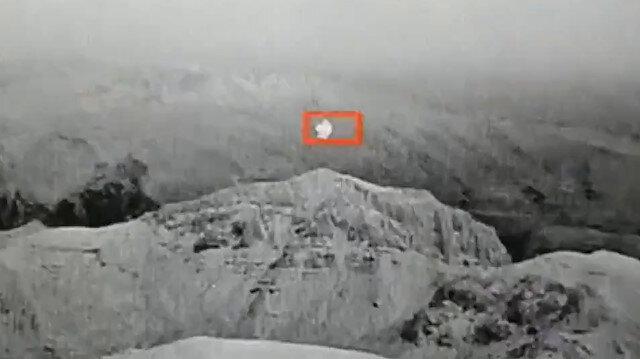 Teröristlerin askeri üsse balonla saldırı girişimi önlendi