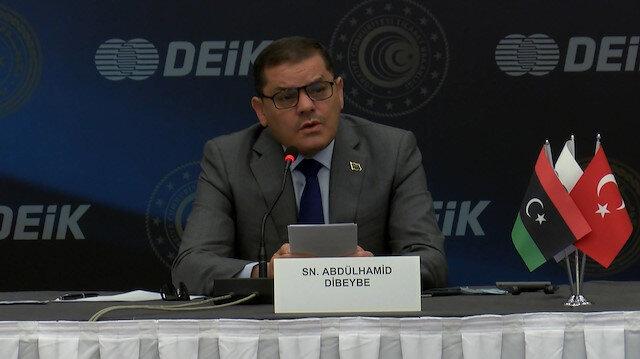 Libya Başbakanı Dibeybe: Türkiye ile vizelerin kaldırılması için hemen işlemlere başlayacağız