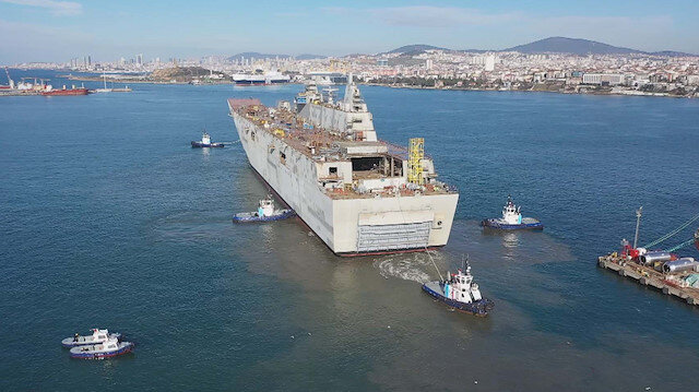 TCG Anadolu Türkiye'nin denizdeki hareket yeteneğini artıracak