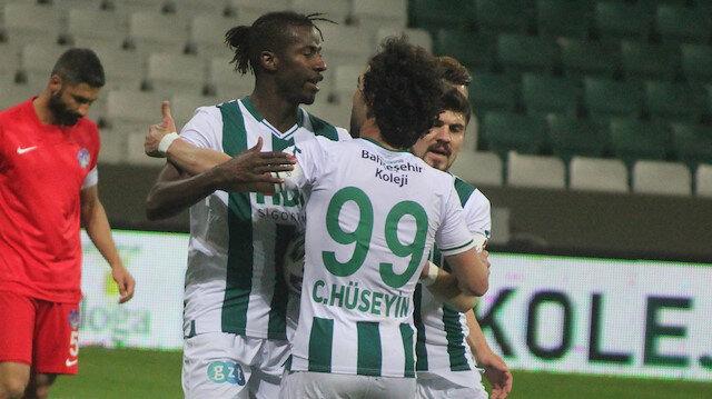 GZT Giresunspor'dan şampiyonluk yolunda kritik 3 puan