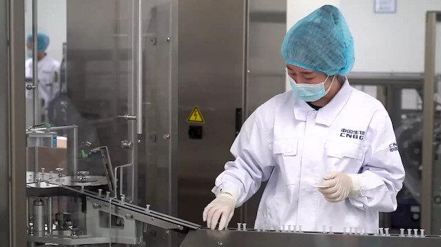 Çin'deki Sinopharm Kovid-19 aşı üretim tesisi görüntülendi