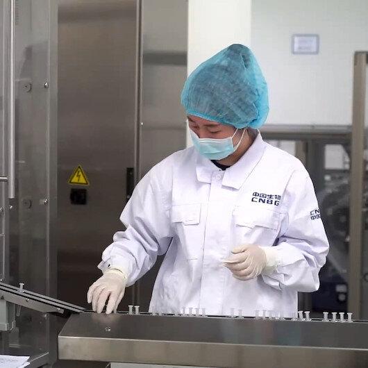 Çindeki Sinopharm Kovid-19 aşı üretim tesisi görüntülendi