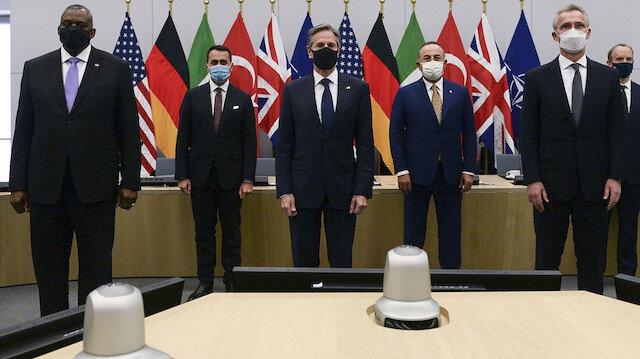 Bakan Çavuşoğlu Brüksel'de: Masada Afganistan var